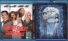 Blu-ray ANNE HATHAWAY AGENTE SMART:CASINO TOTALE - LA SPOSA CADAVERE JOHNNY DEPP