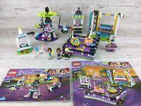 Lego Friends Bundle ~ Set 41133/41128 ~ Amusement Park Bumper Cars/Space Ride(5)