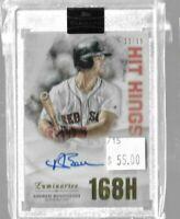 2019 Topps Luminaries Andrew Benintendi 11/15 autograph hit kings - Red Sox