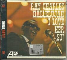 RAY CHARLES - Hallelujah I Love Her So! (1962) CD digipack