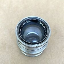 Carl Zeiss Jena 7.5cm 1:4 Sonnar Robot Screw Mount - VINTAGE