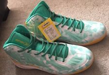 AND1 Xcelerate High Basketball Shoes Sneakers 17 Sample, Ice Green/ While/ Lemon