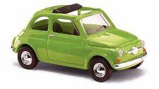 Busch 48723 Fiat 500, Grün  1:87