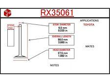Engine Exhaust Valve ITM RX35061