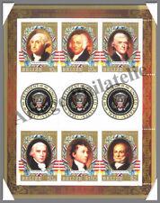 BELIZE - Présidents Américains  - Timbres N°788 à 793