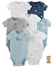 Carter's Bodysuits 7-Pack Short Sleeve Set 3 months Size Authentic and Brand New