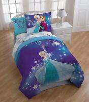 Disney Frozen Magical Winter 7 Piece Bed In A Bag Set Comforter Full Size NWT