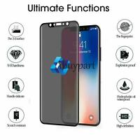 For iPhone 11 pro XR XS MAX 8 7 Anti Spy Privacy Tempered Glass Screen Protector
