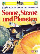 Schon gewußt - Sonne, Sterne und Planeten - Erklär-Buch mit Fragen und Antworten