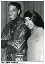 "Ike & Tina Turner London 1968 NEW A1 Size 84.1cm x 59.4cm - 33"" x 24"" Poster"