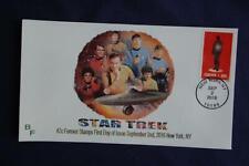 Star Trek Figure Being Transported 47c Stamp Fdc Bullfrog Cachet Sc#5133 11576
