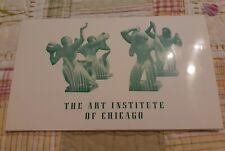 Vintage Restaurant Menu McKinlock Court  Art Institute of Chicago Illinois