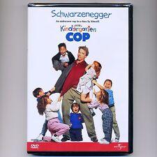 Kindergarten Cop 1990 PG-13 comedy movie, new DVD Arnold Schwarzenegger, Miller