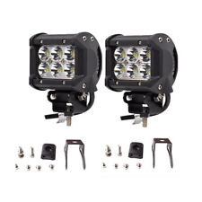 "2x 4INCH 36W CREE LED WORK LIGHT BAR SPOT OFFROAD ATV FOG TRUCK LAMP 4WD 12V 6"""