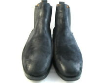 "Allen Edmonds ""LIVERPOOL"" Boots 11 EEE Black Suede  (162)"