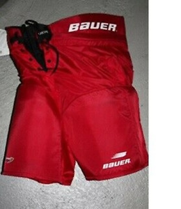 Bauer Eishockey Hose Impact 500 Junior rot