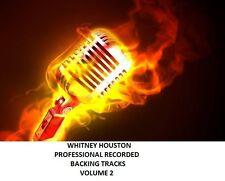WHITNEY HOUSTON PROFESSIONAL RECORDED BACKING TRACKS VOLUME 2