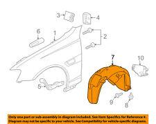 Chevrolet GM OEM 11-16 Caprice-Front Fender Liner Splash Shield Right 92270538