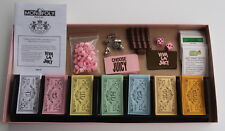 Juicy Couture Monopoly Board Game Collectible Tokens COMPLETE PINK LID & DICE