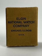 Watch 21 jewels Bw Raymond Box 1922 Elgin National Railroad Company Pocket