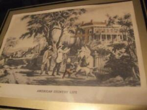 American Country Life by Currier & Ives vintage