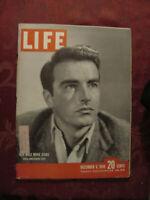 LIFE magazine December 6 1948 Montgomery Clift Television Stars