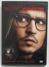 Secret Window (2004, DVD)