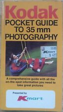 Kodak Pocket Guide to 35mm Photography 1983 Pocket Size 112 Pages