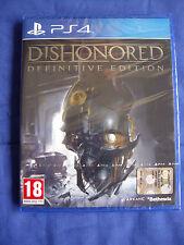 Dishonored - Definitive Edition - Nuevo - Edicion  España - PS4