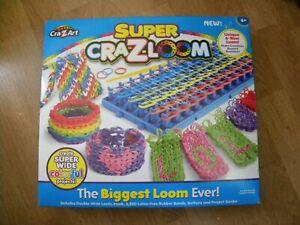 Cra-Z-Loom Super Loom - The BIGGEST LOOM Ever - NEW SEALED