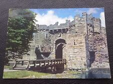 POSTCARD: P2: BEAUMARIS CASTLE: ANGLESEY: POSTED: POST DATE ON CARD IS 1977