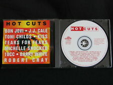 Hot Cuts. Compact Disc. 1994. Bon Jovi KISS Robert Cray 10cc Moody Blues