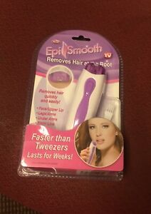 New Epi Smooth Hair Remover Removes Hair at the Root As Seen on TV