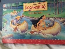 POCAHONTAS Canoe Race Game / Vintage 1994 / VGVC-Displayed Only.