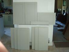 Kitchen cabinet doors shaker grey