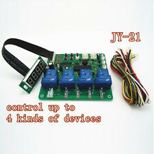Arcade JY-21 4 digits coin operated timer board Control up to 4 kinds of devices