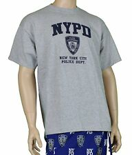 Nypd 9/11 Official Licensed Memorial Short Sleeve T-Shirt Gray Nypd