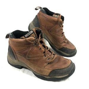 GUC Women's Ariat Hiking Riding Boots lace up Brown  Terrain Sz 8B