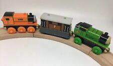 Thomas Wooden Railway RFID LOT Toby Billy Percy 2003 Gold Magnet Talking Railway
