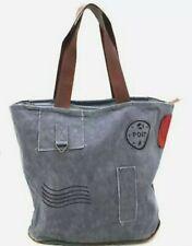 32aa897f5431a XXL Shopper  Vintage Tasche Leder Schultertasche Canvas   NEU