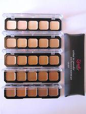 Sleek Creme To Powder Foundation Kit Palette Test Your Shade Medium / Dark