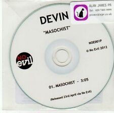 (DD505) Devin, Masochist - 2012 DJ CD