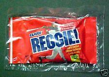 Reggie Jackson Clark Candy Bar Baseball Card~UNOPEN~Vintage Sports Memorabilia