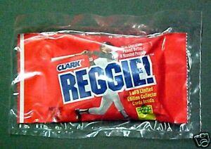 Reggie Jackson Clark Candy Bar Baseball Card-UNOPENED-Rare Sports Memorabilia
