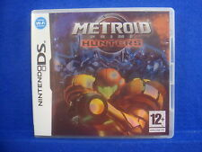 *ds METROID PRIME HUNTERS (NI) Wi-Fi Multiplayer Action Lite DSi 3DS PAL UK