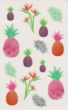 Mrs. Grossman's Giant Stickers - Watercolor Pineapples - 2 Strips