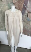 Vintage Lace Pale Pink Blush Nightgown Night Gown Slip Sleepwear Size Small