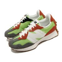New Balance 327 Green Grey Orange White Gum Men Women Unisex Casual MS327SFA D