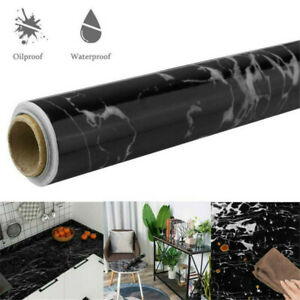 Self Adhesive Aluminum Foil Wall Sticker Wallpaper Oil-proof Waterproof G0D1