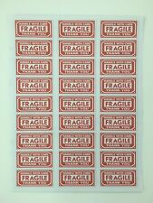 FRAGILE Warning Labels Promotion Pack of 54 Stickers Each size 63 x 29 mm
